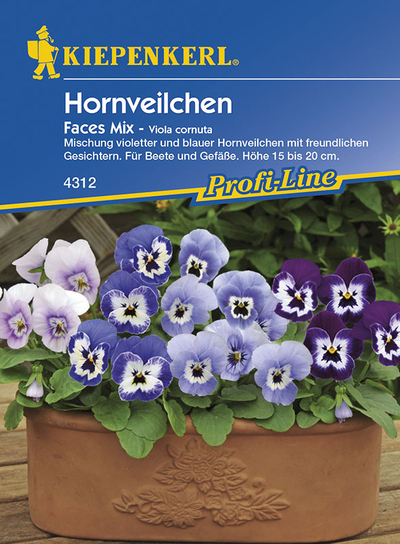 Hornveilchen Faces-Mix