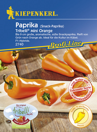 Paprika SnackpaprikaTribelli Mini orange