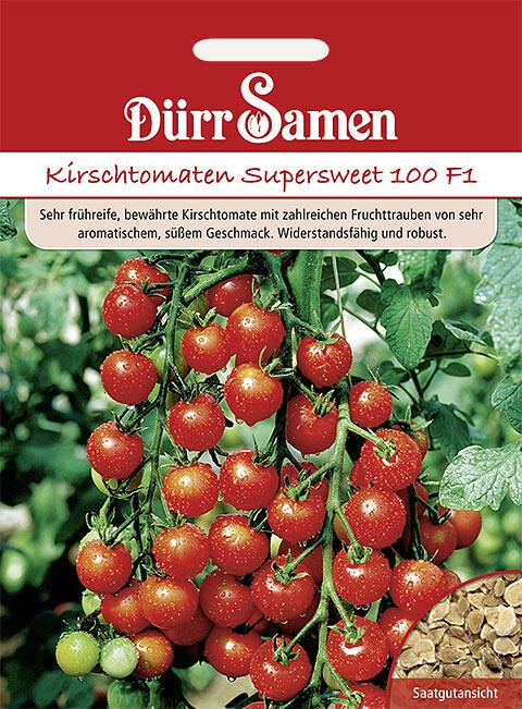 kirsch tomaten supersweet 100 f1 samenshop24 saatgutversand seit. Black Bedroom Furniture Sets. Home Design Ideas
