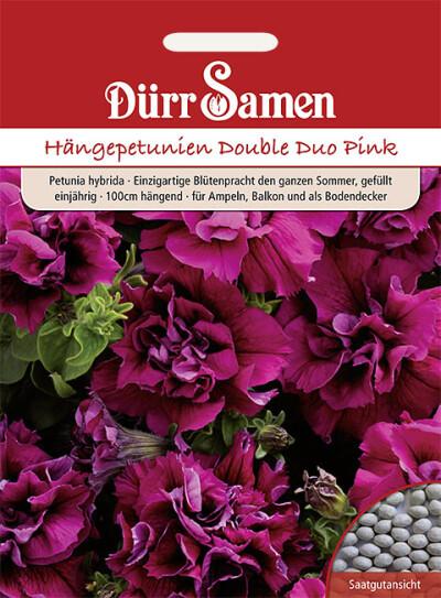 Außergewöhnlich Petunien Double Duo Pink - Samenshop24 - Saatgutversand seit 1928 - S @QR_72