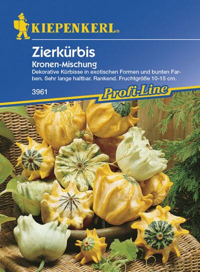 Cucurbita pepo Zierkürbis Kronenmischung