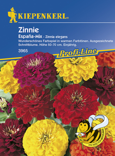 Zinnia Zinnie Espana Mix