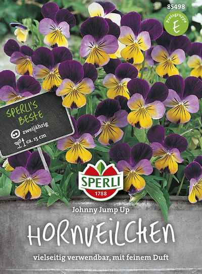Hornveilchen (Viola) Johnny Jump Up