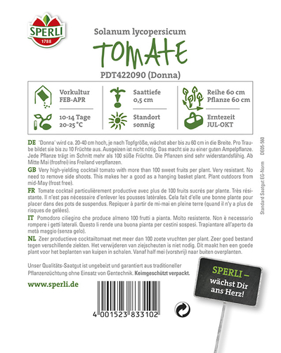 Tomate Donna F1 (Topftomate)